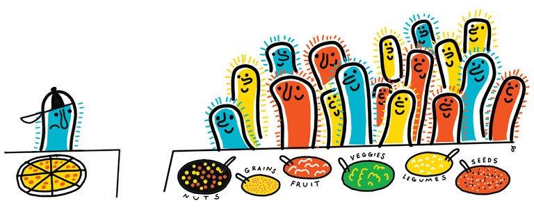 Oh my gut - Jak opravit zpomalený metabolismus - mikrobiom - přibírání a chutě